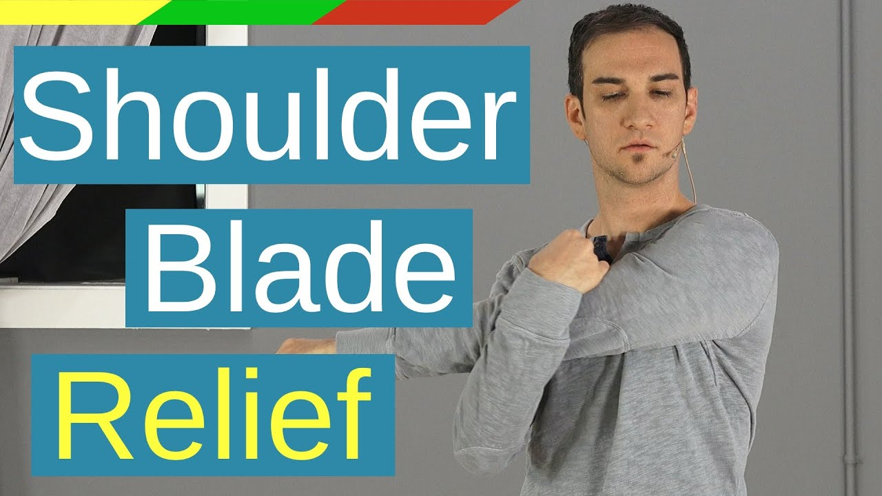 Neck and Shoulder Blade Pain Relief